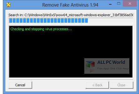 Remove Fake Antivirus Installer Free Download