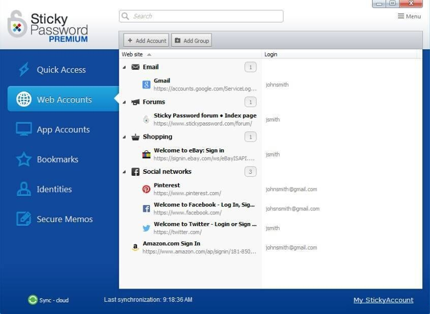 Sticky Password 8 Free Download