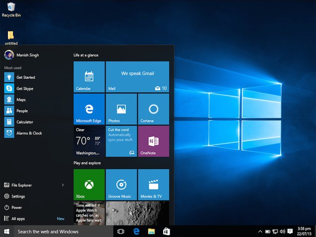 Windows 10 Pro RS2 Free Download