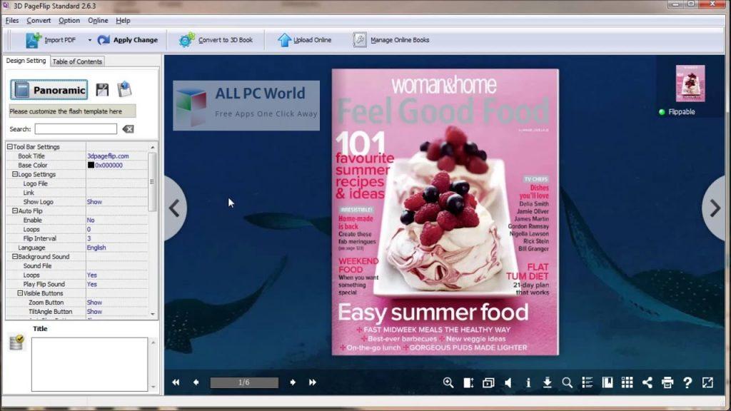 3D PageFlip Standard 2 Setup Free Download