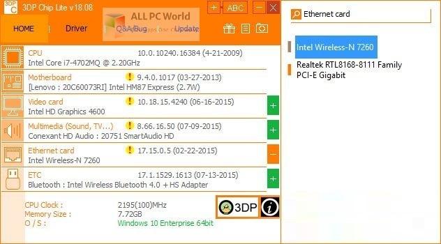 3DP Chip 21 Setup Free Download