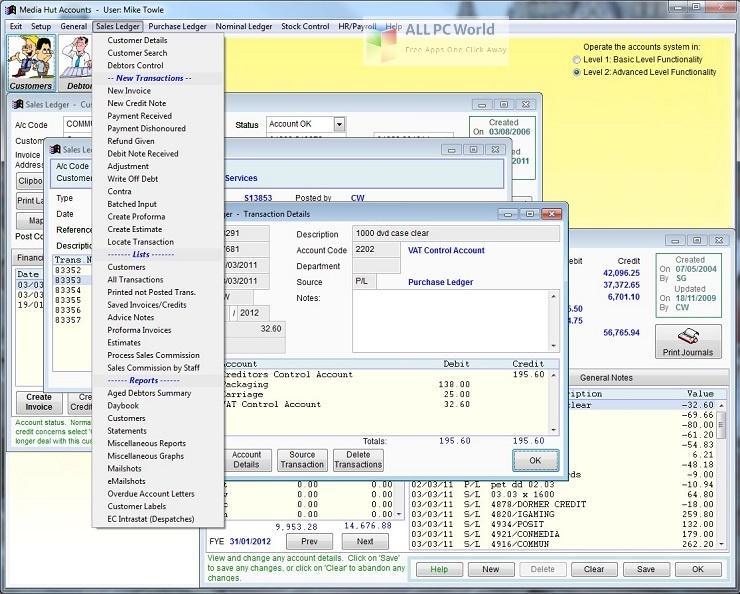 Adminsoft Accounts 4 Installer Free Download