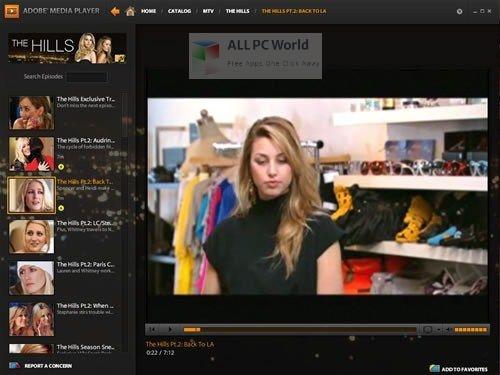 Adobe Media Player Installer Free Download