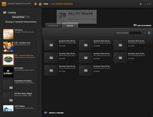 Adobe Media Player Setup Free Download