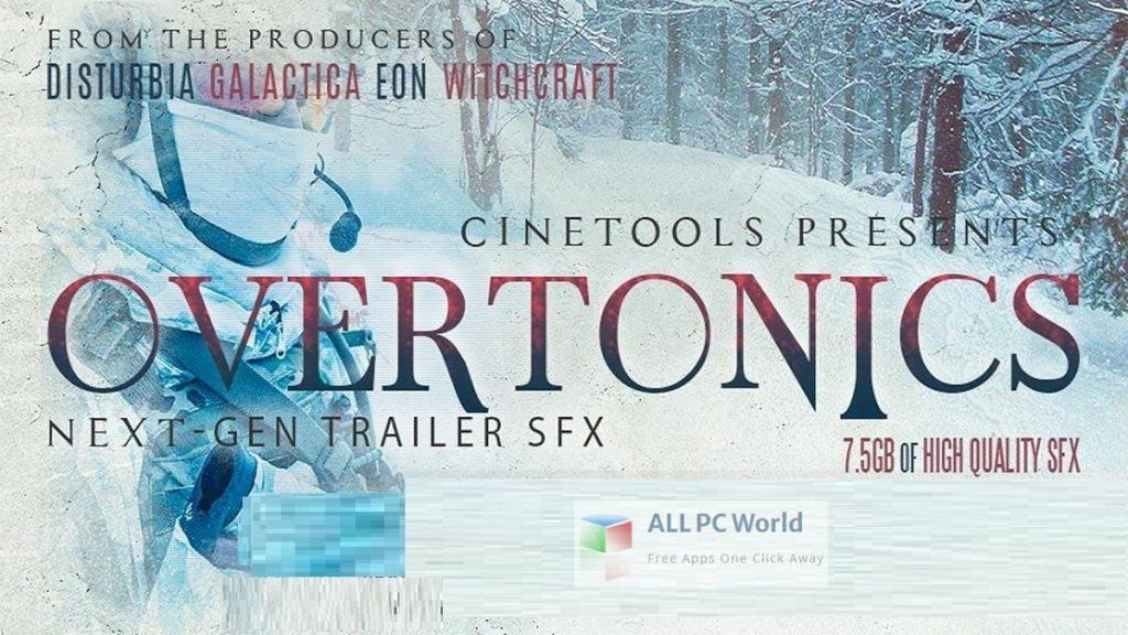 Cinetools Overtonics FX WAV Setup Free Download