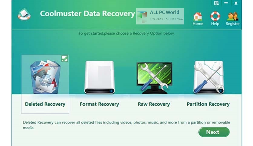 Coolmuster Data Recovery 2 Installer Free Download