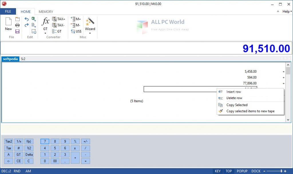 DeskCalc 9 Installer Free Download
