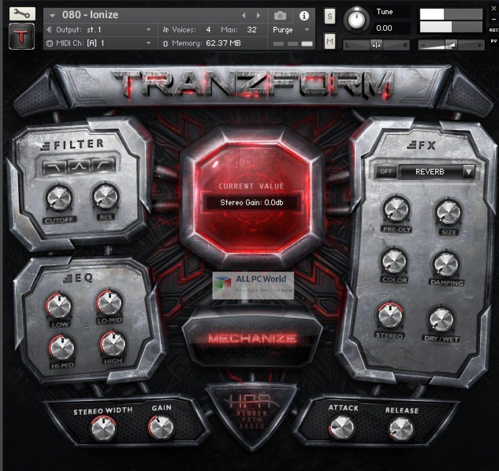 Hidden Path Audio Tranzform Setup Free Download
