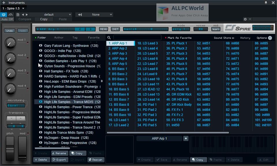 HighLife Samples Electronic Dance Music Bundle Setup Free Download