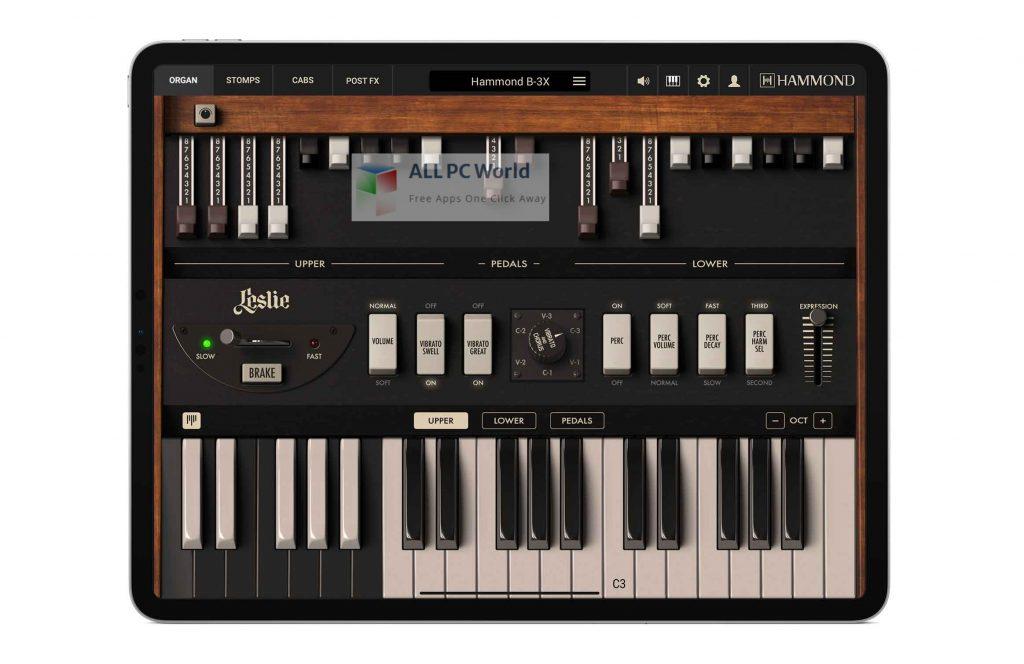 IK Multimedia Hammond B-3X Setup Free Download