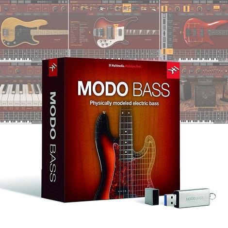 IK Multimedia MODO BASS Free Download