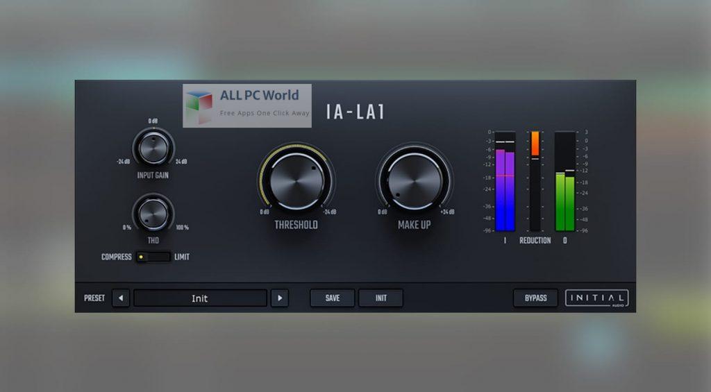Initial Audio IA-LA1 Compressor Free Download