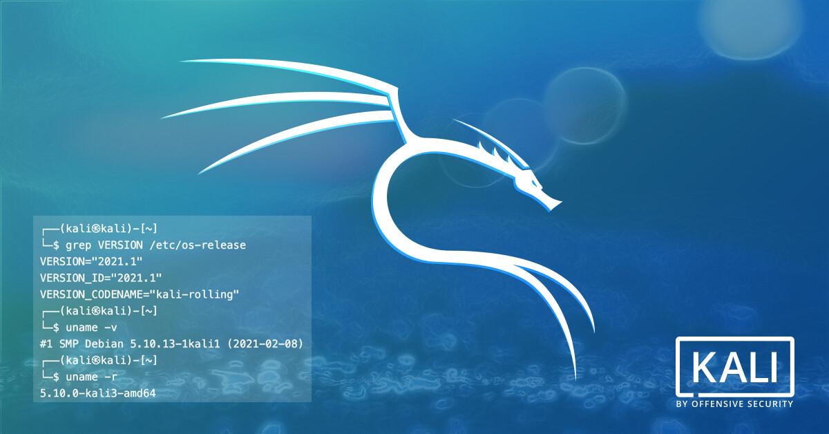 Kali Linux 2021 Download Free