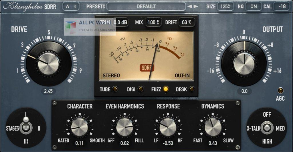 Klanghelm SDRR 2 Installer Free Download