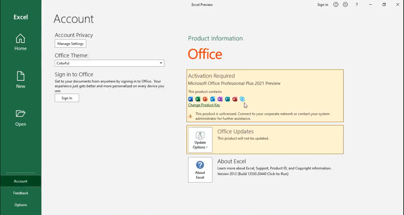 MS Office 2021 Professional Plus Free Download
