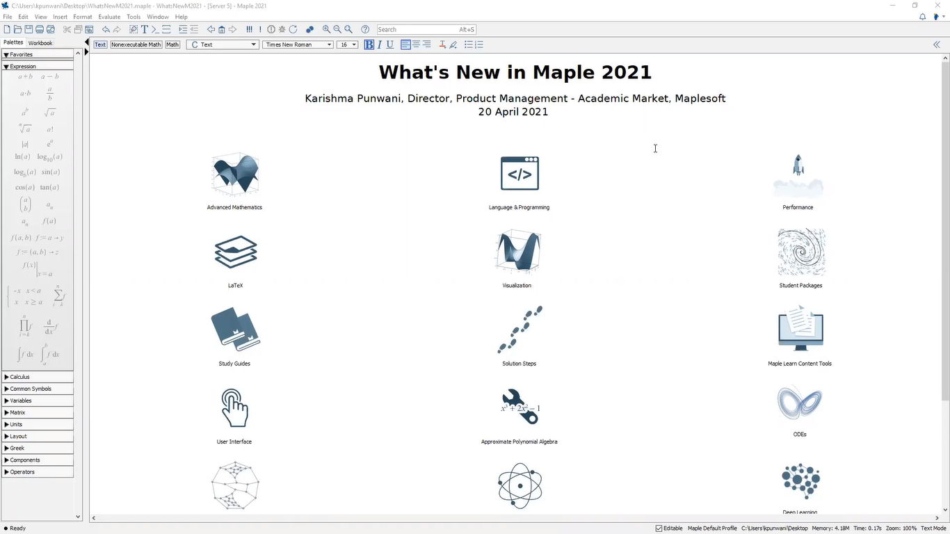 Maplesoft Maple 2021 Free Download