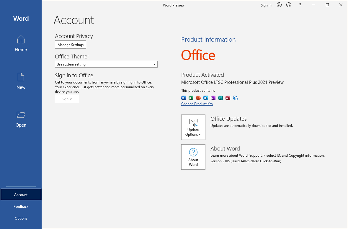 Microsoft Office 2021 Professional Plus Free Download