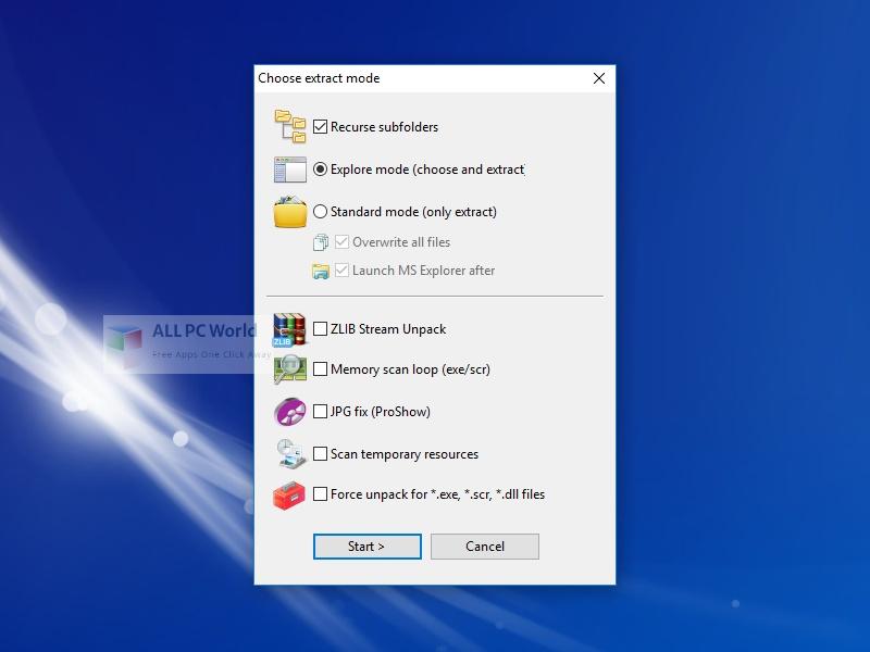 MultiExtractor 4 Setup Free Download