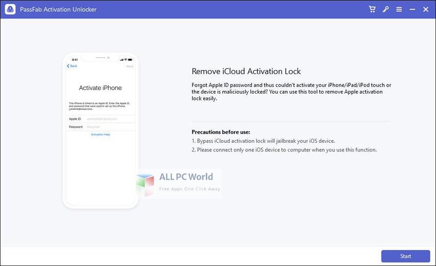 PassFab Activation Unlocker 2 Setup Free Download