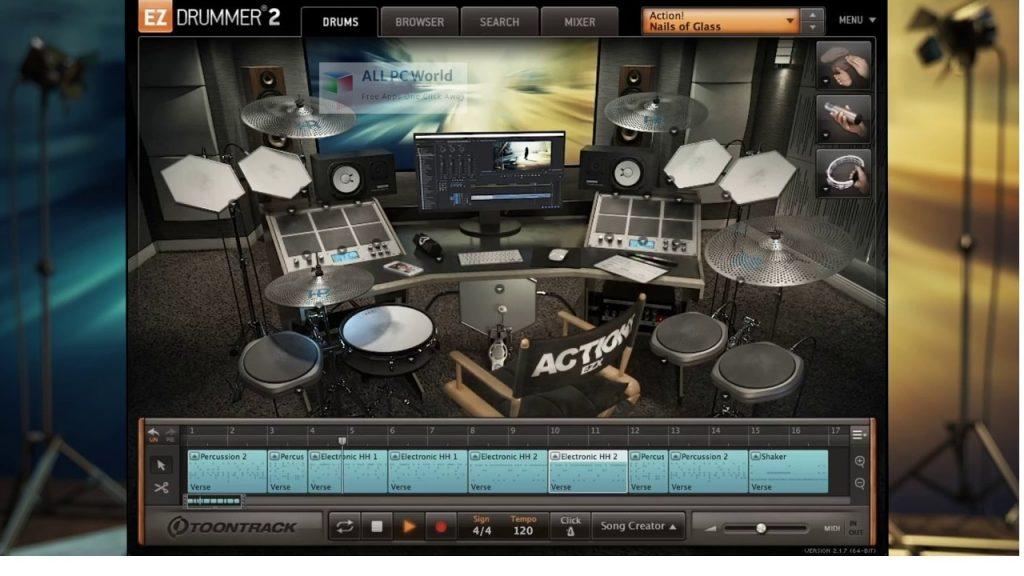 Toontrack Action! EZX Setup Free Download