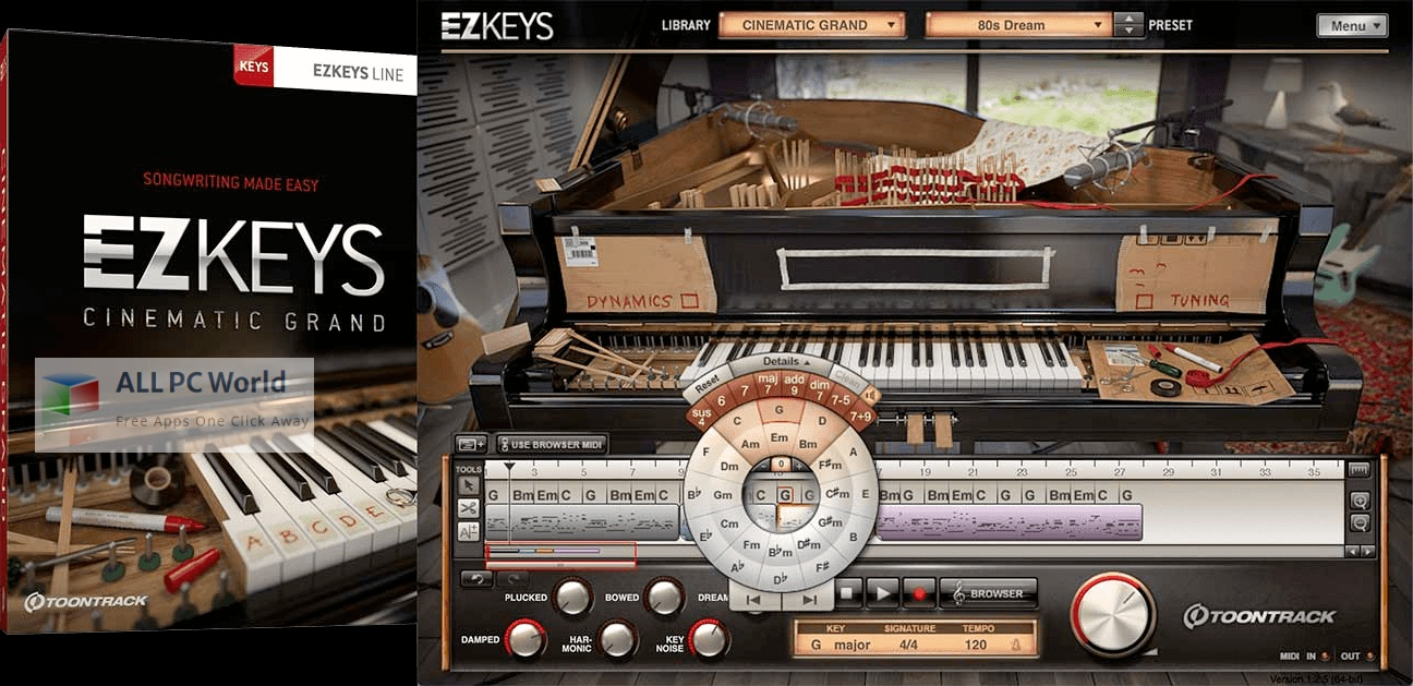 Toontrack EZkeys Cinematic Pads Installer Free Download