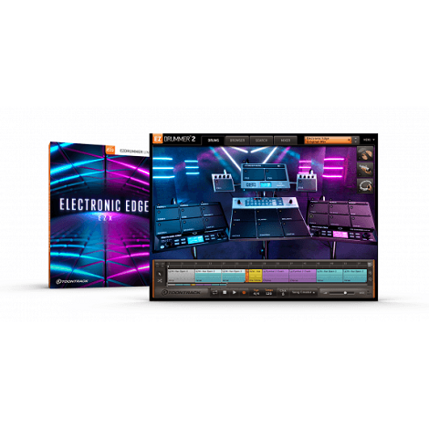 Toontrack Electronic Edge EZX Free Download