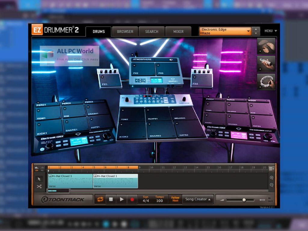Toontrack Electronic Edge EZX Installler Free Download