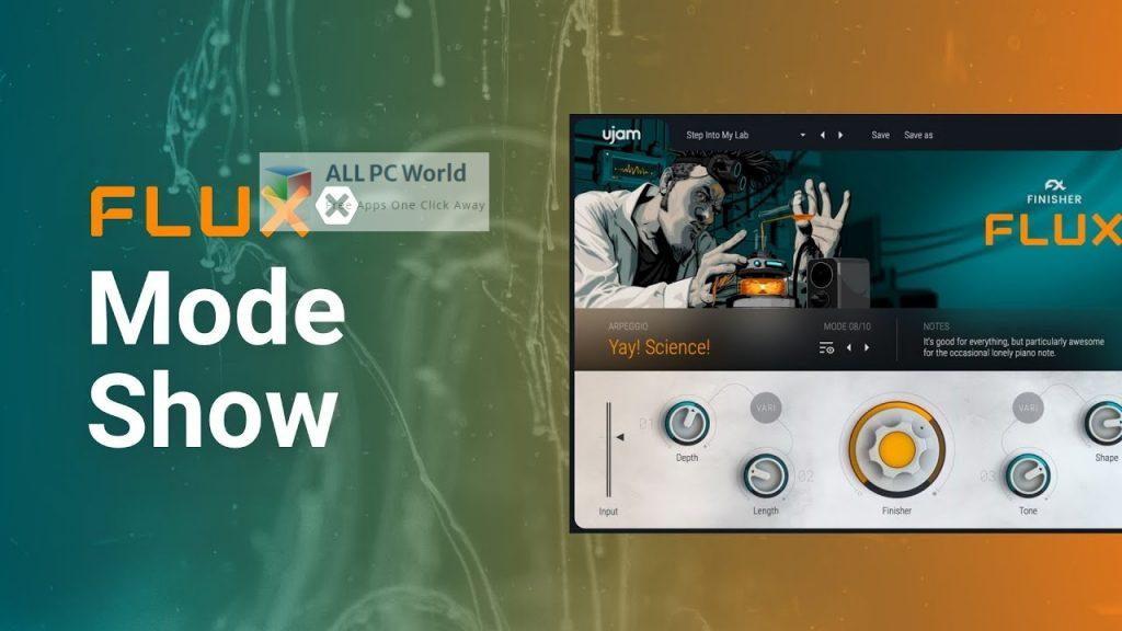UJAM Finisher FLUXX Setup Free Download