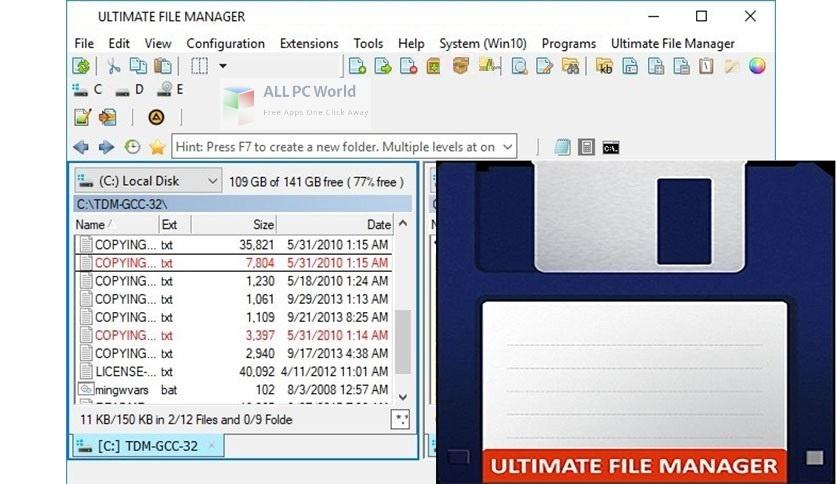 Ultimate File Manager 7 Setup Free Download