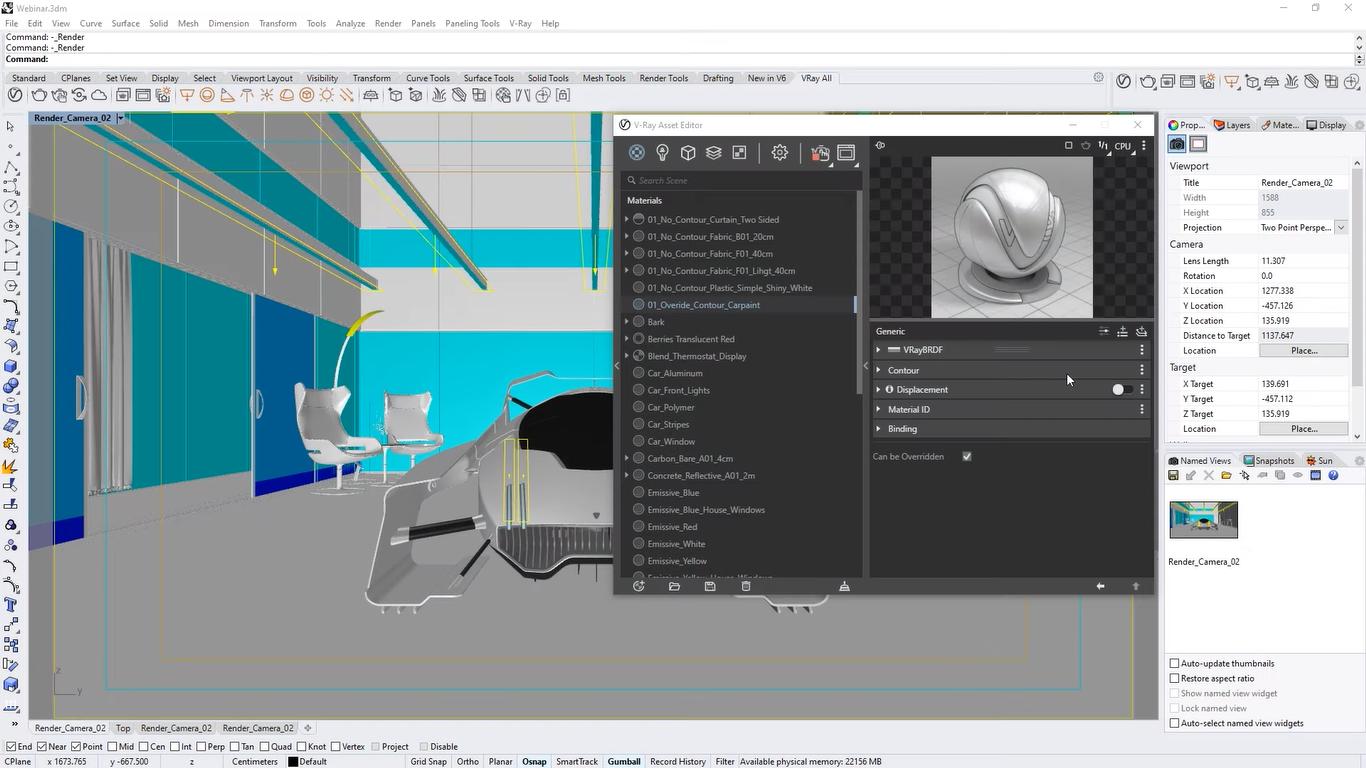 V-Ray 5 Plugin for Rhinoceros Free Download
