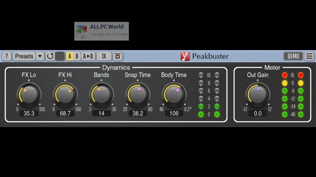 Voxengo Peakbuster Installer Free Download