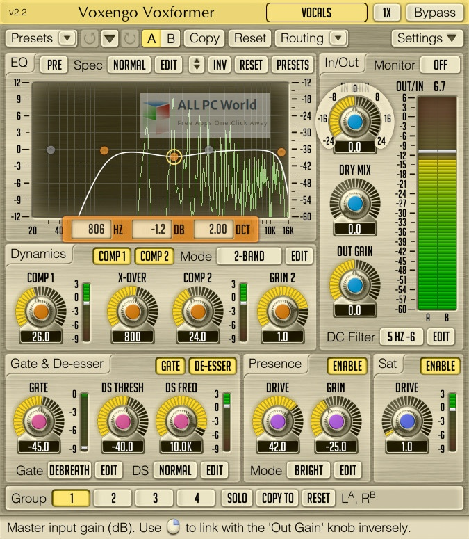 Voxengo Voxformer 2 Setup Free Download