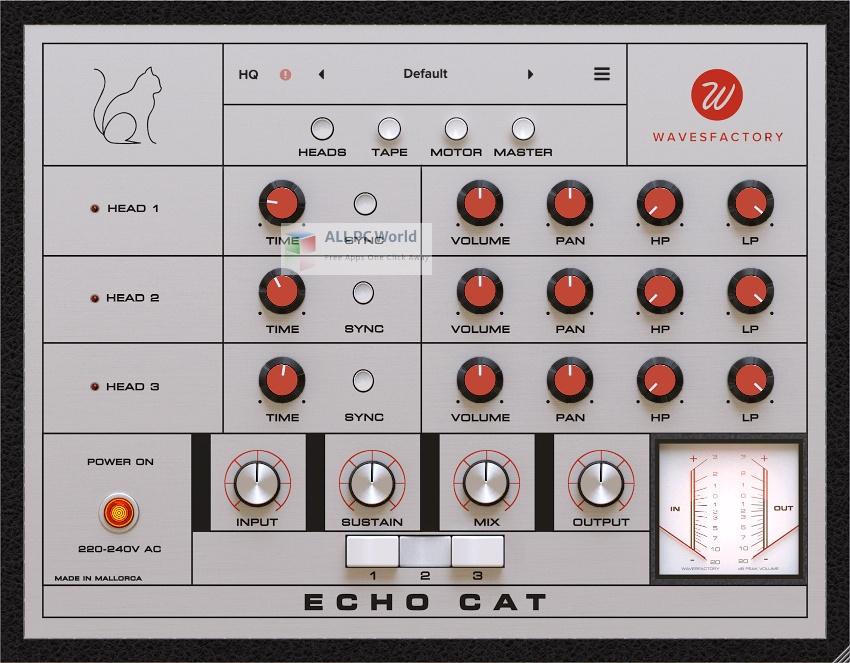 Wavesfactory Echo Cat Installer Free Download
