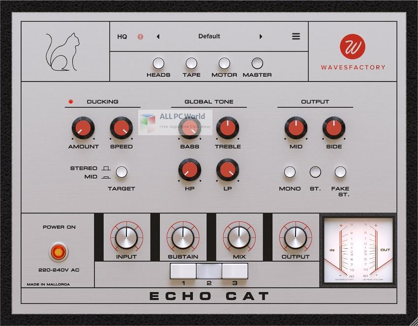 Wavesfactory Echo Cat Setup Free Download