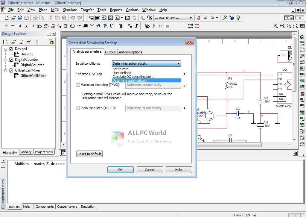 sim max multisim 4 Installer Free Download