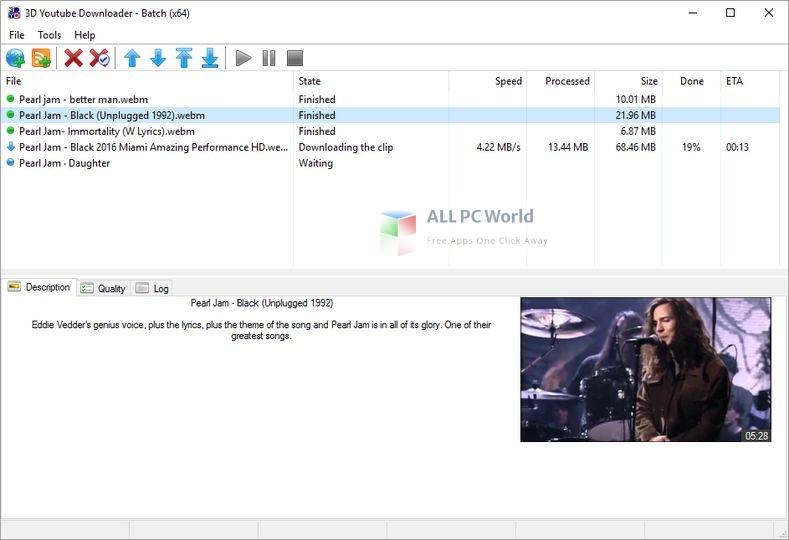 3D Youtube Downloader Installer Free Download