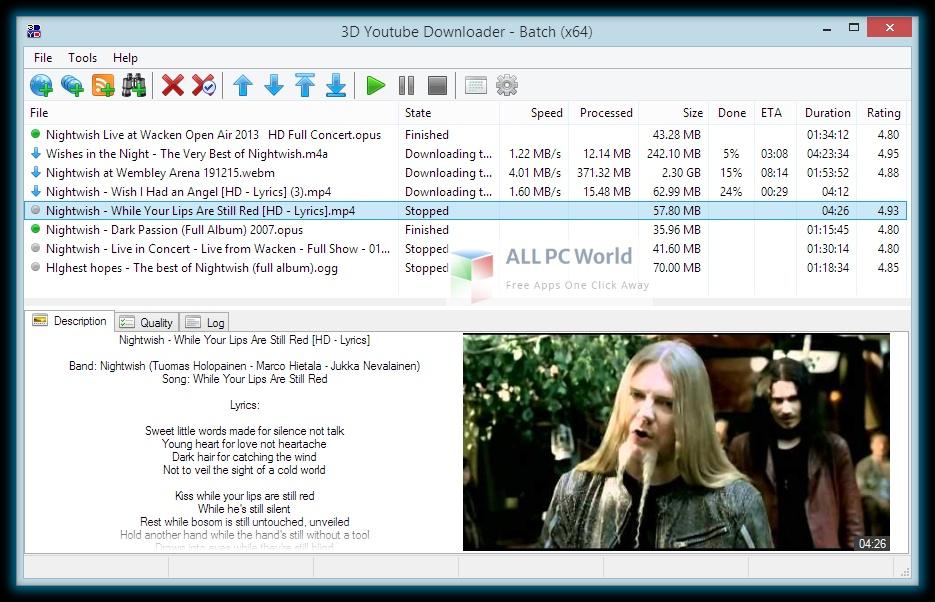 3D Youtube Downloader Setup Free Download