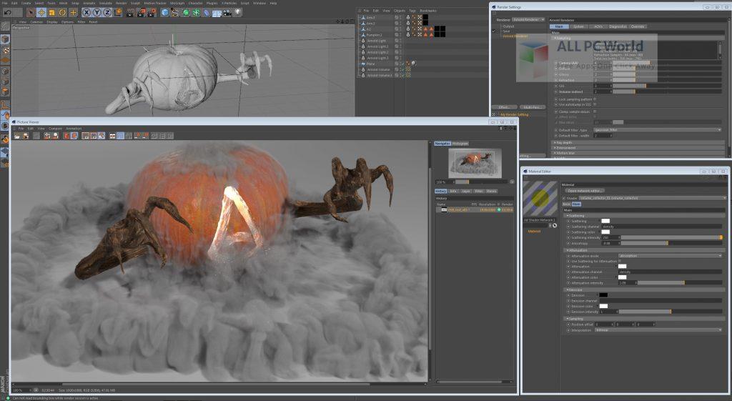 Arnold for Cinema 4D Free Download Setup Free Download