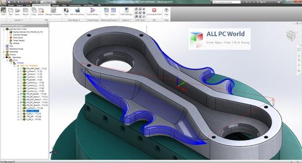 Autodesk InventorCAM Ultimate 2022 Installer Free Download
