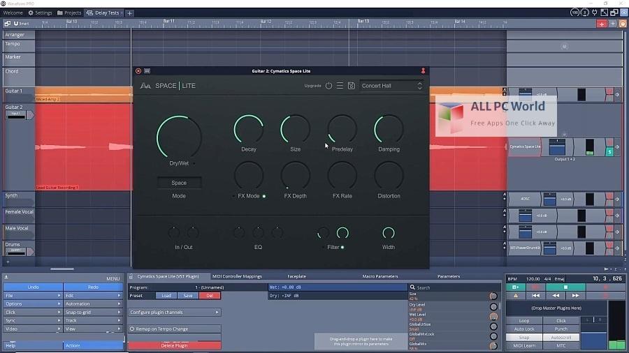 Cymatics Space Reverb Plugin Setup Free Download