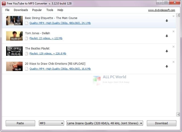 Dvdvideosoft Setup Free Download