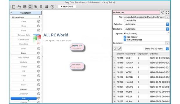 Easy Data Transform Installer Free Download