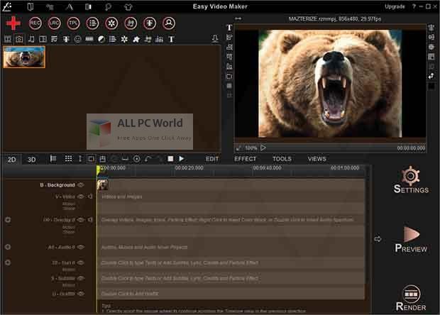 Easy Video Maker Platinum 10 Free Download 1