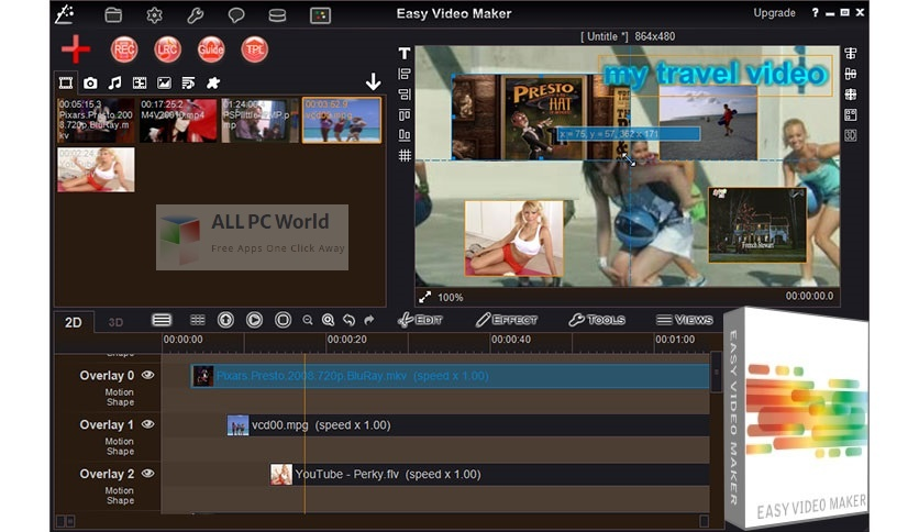 Easy Video Maker Platinum 10 Setup Free Download