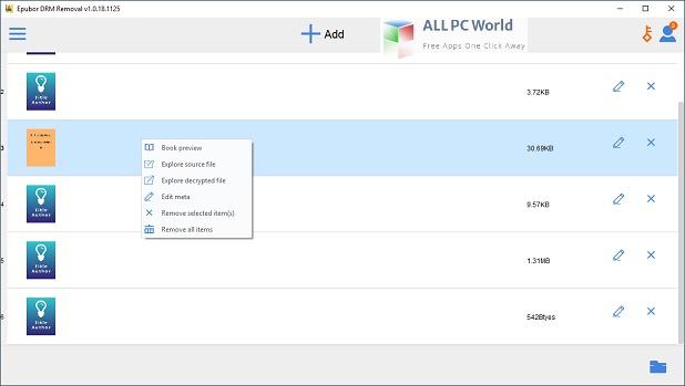 Epubor All DRM Removal Setup Free Download