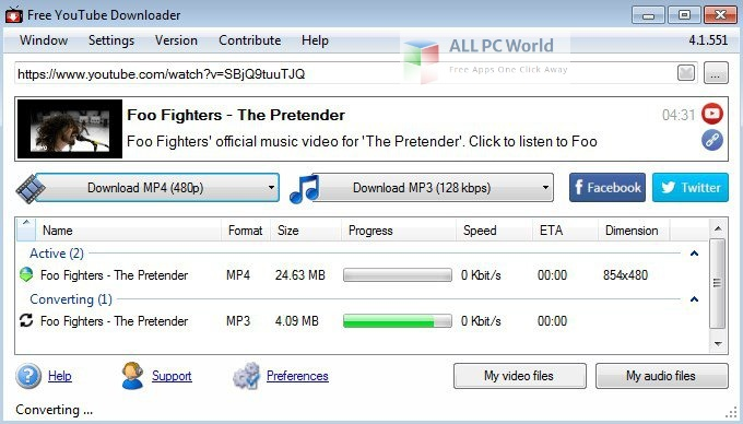 Free YouTube Download 4 Free Download