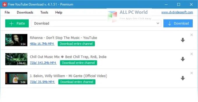 Free YouTube Download 4 Setup Free Download