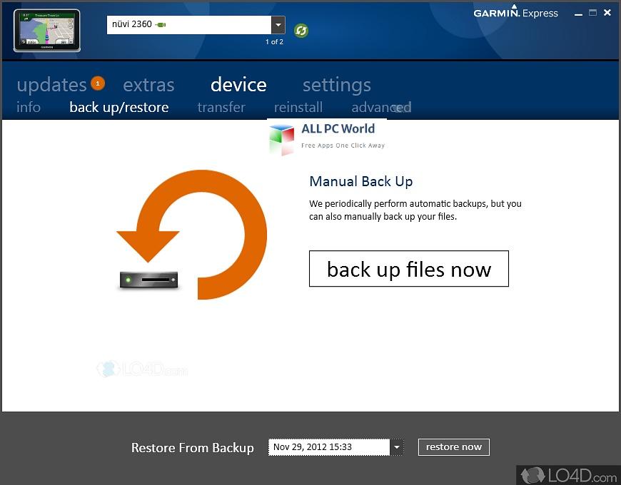 Garmin Express 7 Installer Free Download