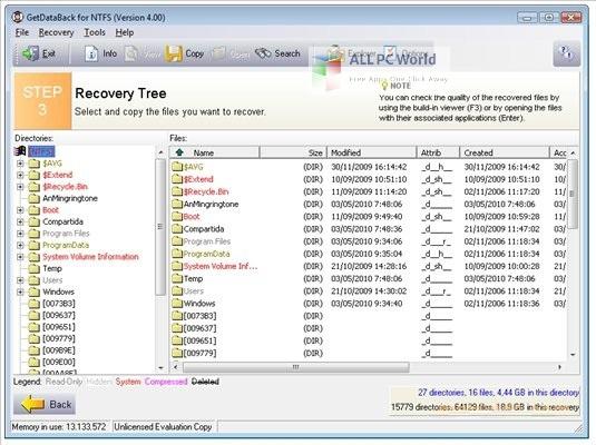 GetDataBack for NTFS 4 Setup Free DOwnload