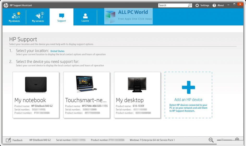 HP Support Assistant 9 Setup Free Download